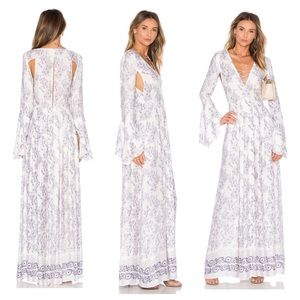 The Jetset Diaries Infinity Pool Maxi Floral Dress